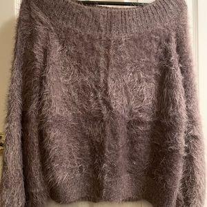 Metallic Brown Express Sweater